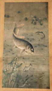元朝 - 画鱼传世的僧人赖庵